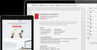 resume builder ipad laptop the resume builder
