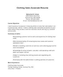 Sample Resumes For Retail Sale Associate Skills Sample Resume Retail