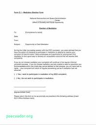 Letter Of Agreement Samples Template Amazing Workplace Mediation Agreement Template New Mediation Agreement Form