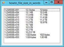 Format File Sizes In Kb Mb Gb And So Forth In C C