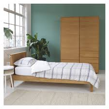 Single Bedroom Furniture Hana Ii Oak Single Bed 90cm Buy Now At Habitat Uk
