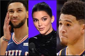 The kuwtk star is a proud girlfriend as devin booker competes with his phoenix suns during game 1 of the nba finals. Devin Booker Has Been Trying To Holla At Kendall Jenner Since He Was 16 And How He Used Ben Simmons To Get Her Blacksportsonline