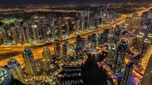 Dubai at Night 4k Ultra HD Wallpaper ...