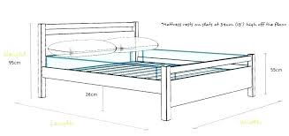 Standard Bed Length South Africa Sizes Uk India Size Chart