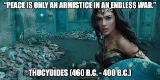 Wonder Woman Quotes Beauteous That Thucydides Quote In 'Wonder Woman' Is It Legit Intellectual