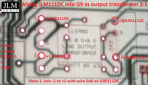 wiring jlm111dc into g9 mic pre as output transformer jlm audio wiring jlm111dc into g9 mic pre as output transformer