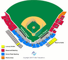 Si Yankee Stadium Seating Chart Staten Island Yankees Vs Vermont Lake Monsters Tickets At