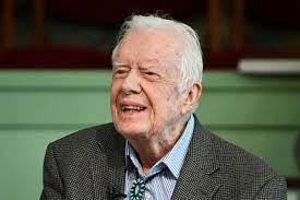 Former President Jimmy Carter ...