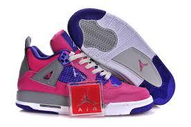 jordan shoes for girls 2014 pink. air jordan 4 retro gs pink purple grey shoes for girls 2014 v