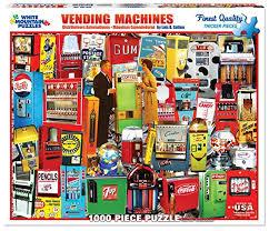 Kaye Pencil Vending Machine Enchanting Buy White Mountain Puzzles Vending Machine Jigsaw Puzzle 48Piece