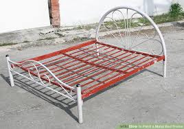 paint a metal bed frame how to paint a metal bed frame popular ikea king bed