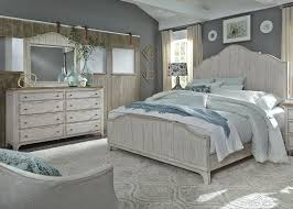 Liberty Farmhouse Reimagined Antique White Panel Bedroom Set ...
