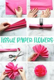 Diy Flower Balls Tissue Paper Diy Tissue Paper Decorations