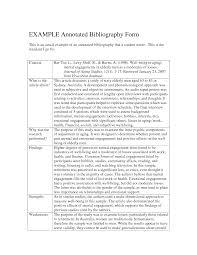 Apa Sample Paper Annotated Bibliography Apa Examples