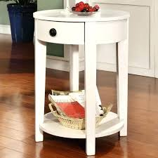small white nightstand side tables white round bedside table image of classic round bedside table small