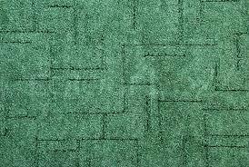 Green carpet on the floor Stock Photo Colourbox