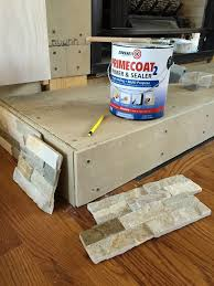 fireplace hearth building diy fireplace makeover at home with the barkers