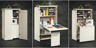 craft table armoire