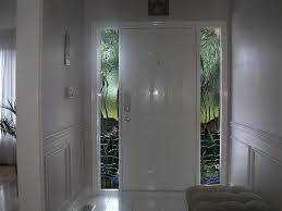 wood doors simple but enchanting modern glass front door