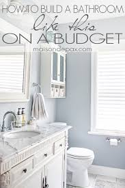 Cheap Bathroom Makeover Mesmerizing Bathroom Renovations Budget Tips