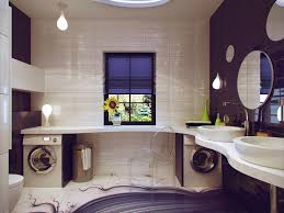 Purple Bathroom Bin Divine Lundry Space In Small Bathroom Ideas Introducing Splendid
