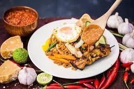 1 blend the seasonings until a coarse paste is obtained. Nasi Goreng Kampung Picture Of P Nut Street Noodles Brisbane Tripadvisor