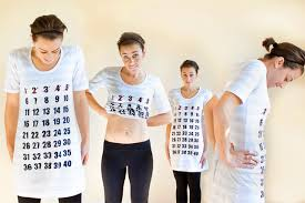 How To Make A Maternity Calendar Shirt With Miranda Of One