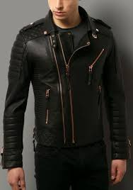 Kay Michaels Quilted Biker V.2 (Rose Gold Hardware) | My Kind of ... & New Hot Men's Genuine Lambskin Leather Jacket Black Slim fit Motorcycle  jacket in Clothing, Shoes & Accessories, Men's Clothing, Coats & Jackets Adamdwight.com