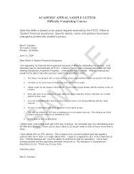 Financial Aid Appeal Letter Template New Calendar Template Site ... financial aid appeal letter template new calendar template site: sample college student academic