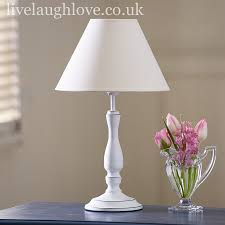 shabby chic lighting. White Shabby Chic Lamp Lighting P