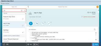 Sap Neptune Application Designer Interactive Neptune Application To Display Customer Details