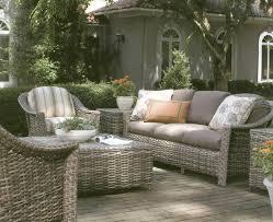 Lane Venture Weathermaster St Simons outdoor wicker furniture