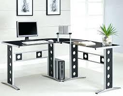 ikea galant l shaped desk glass top l shaped desk image of modern l shaped desk
