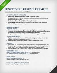 functional resume format example how should my resume be formatted