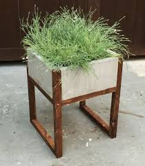Ideas About Diy Concrete Planters And Outdoor Inspirations Concrete Outdoor  Planters
