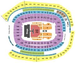 Us Bank Stadium Tickets And Us Bank Stadium Seating Chart