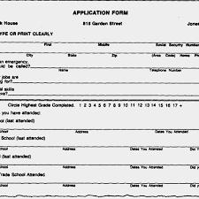 53 Blank Resume Form Fill Out Good Scholarschair