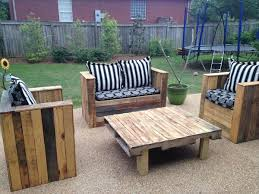Diy Pallet Patio Furniture Cushions DIY Pallet Patio Furniture