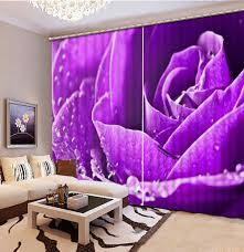 Purple Flower Wallpaper For Bedroom Online Get Cheap Purple Bedrooms Aliexpresscom Alibaba Group