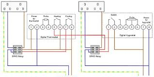 stc temperature controller wiring diagram stc converting a fridge into a curing chamber part 3 the electrics on stc 1000 temperature controller