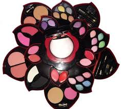 complete makeup kit. professional women full set open as rose flower makeup kit color collection g123 | ebay complete