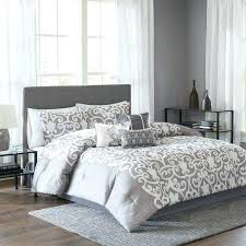 quilt sets bed bath and beyond quilt set cozy look white grey color combine in