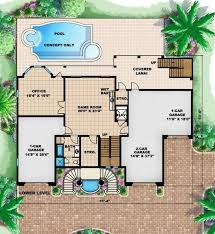 Open And Inviting Beach House Plan  66307WE  Architectural Beach Cottage Floor Plans