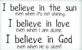 Believe In Love Quotes Cool LoveQuotes Fun Believe In GOD