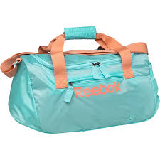 reebok duffle bag. reebok womens sport essentials grip duffle bag blue