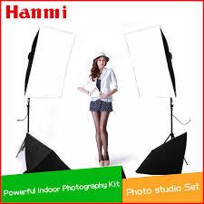 indoor photography soft box lighting kit 4pcs 50x70cm softbo 2pcs light holder stands photo studio accessories equipment set in photo studio accessories