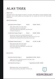 Resume 2017 Amazing 5215 24 Best Resume Format Mealsfrommaineorg