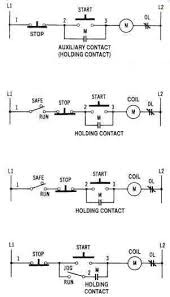 operational power control systems a start stop pushbutton control circuit overload protection one line diagram fig 2 a start stop control circuit low voltage protection and