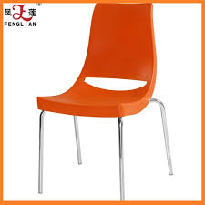 china manufactur pp charles plastic chair with metal legs