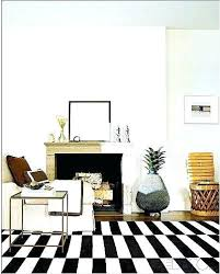 striped rug interior best rand images on bedrooms awesome wool ikea grey and white bed